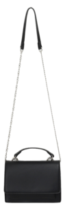 Silver chain cross bag_U