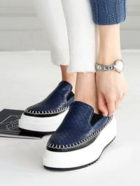 Bennett Grid Slip-on 5cm