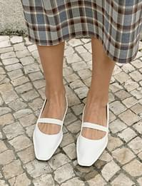 Blank stitch flat shoes_A (size : 230,235,240,245,250)