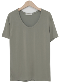 Modal round neck T_A