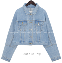 LEVIT WASHING DENIM JACKET 夾克外套