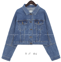 LEVIT WASHING DENIM JACKET