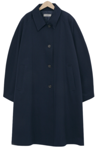Doner long trench coat