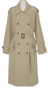 Bron strap trench coat_C