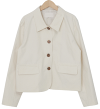 Mate cotton collar jacket_C (size : free)