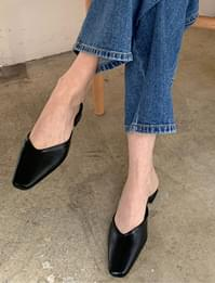 Slim shape simple mule_U