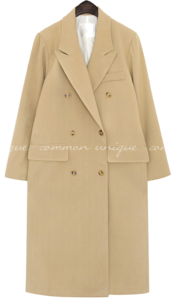 SWEIL DOUBLE LONG COAT