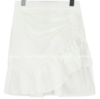 ROINY FRILL STRING BANDING MINI SKIRT