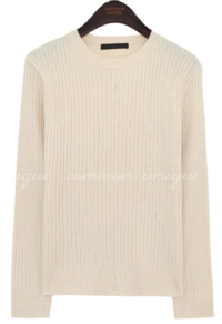 Ribbed Slim Knit Top