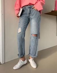 Neutro vintage denim pants