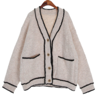 Wool stitch cardigan 開襟衫 & 背心