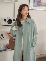 Wake single trench coat_A (size : free)
