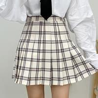 Syrup Check Tennis Skirt