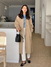 Dream long trench coat_U