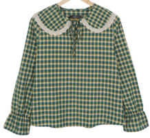 Lavenda check blouse