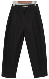Us cotton pintuck pants_J