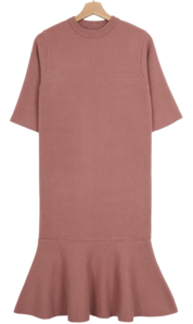 Lineup Knit Peplum Dress