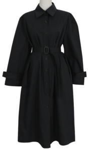 Trench dress coat