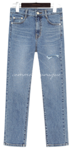 SOUR DAMAGE DENIM PANTS デニムパンツ
