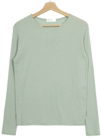 PBP.Polyester cotton knit T-shirt 長袖上衣