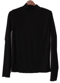 Wavy Louis Half Neck T-shirt