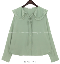 CHIFFON FRILL SAILOR COLLAR BLOUSE ブラウス