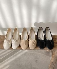 393 ribbon flat shoes