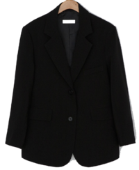 Daily two-button overfit jacket jacket