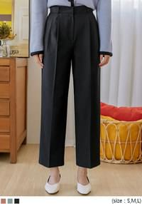 CELITTE PINTUCK WIDE SLACKS