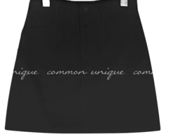 Basic Cotton Mini Skirt