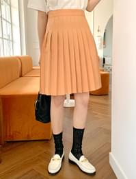 Honey pleats mini skirt_J