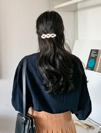 Twist hard hair pin_Y