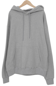 B over-fit hood T (size : free)