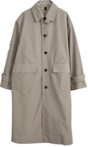 sturdy single trench coat