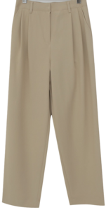 Way loose pintuck slacks