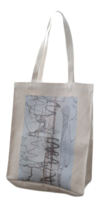 rough printing cotton bag