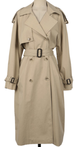 Blossom trench coat