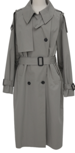 Mine trench long coat_C