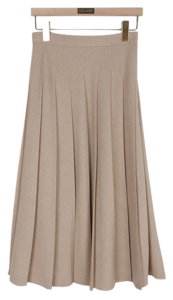 Cover pleated skirt