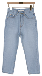 Ice denim pants
