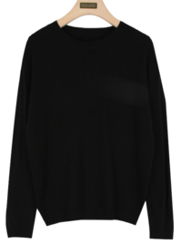 Loose round knit