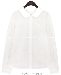 CREEF 2 WAY STITCH COLLAR BLOUSE 襯衫