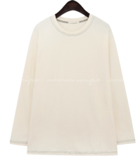 MONTID STITCH POINT COTTON T 長袖