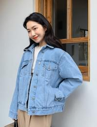 Elin boxy denim jacket_C
