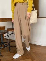 Mood vintage pintuck slacks_U