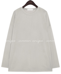 CLEM LOOSE FIT ROUND NECK T