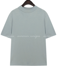 CYMA HALF NECK COTTON 1/2 T Short Sleeve