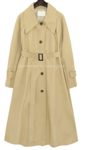 MIRANDA RAGLAN BELT TRENCH COAT