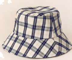 LENCOS WIRE CHECK BUCKET HAT