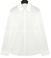 ADELIN BASIC COLLAR BLOUSE